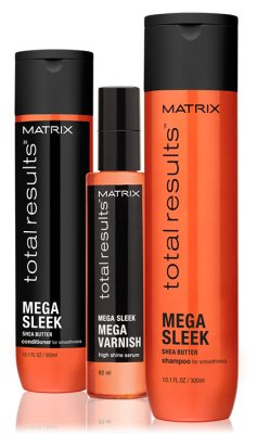 Total Results - Mega Sleek - Rebellisches Haar