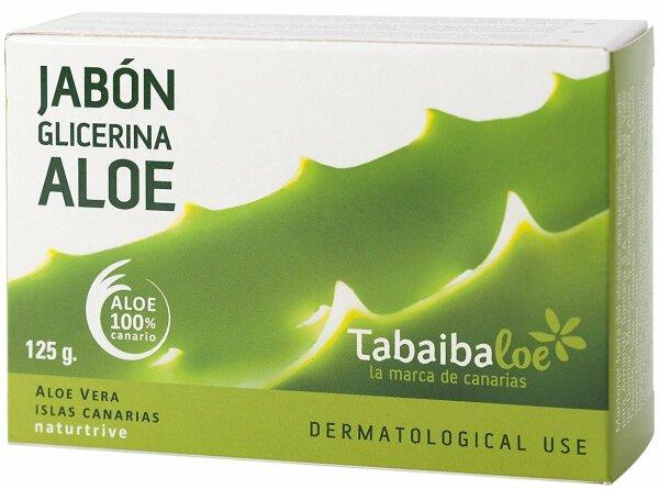 Tabaibaloe Glycerin Seife mit Aloe Vera 125g