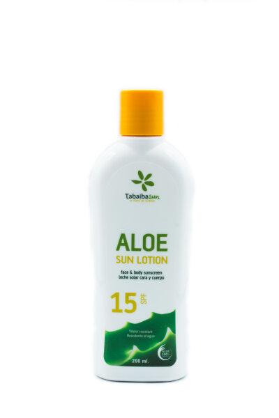 TabaibaSun  - Aloe Vera Sonnencreme 15 SPF - 200 ml
