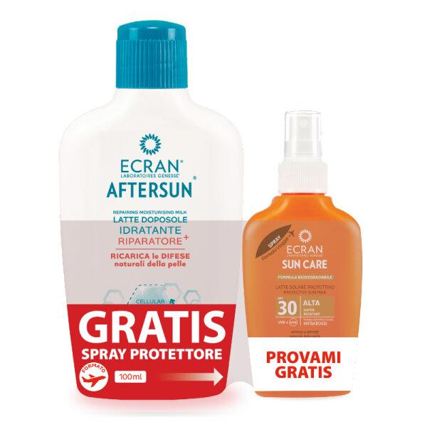 2er Set Promotion -  After Sun Milk 200ml - After Sun - Leche Hidratante Reparadora - Reparierende After Sun Milch - 200ml + Sun MIlk Spray FPS 30 100ml